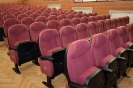 Nowe fotele w sali widowiskowej Gminnego Ośrodka Kultury w Błażowej.