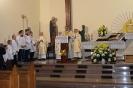 Budowa i poświęcenie Groty NMP z Lourdes w Białce (1)